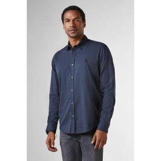 b051050dc Camisa Reserva Regular Pois Maquineta Masculina