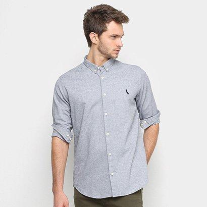 Camisa Manga Longa Reserva Oxford Color Masculina