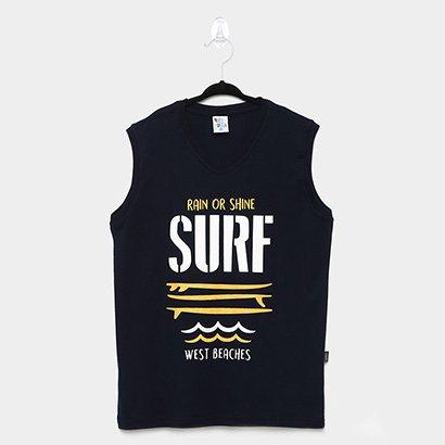 Regata Infantil Pulla Bulla Surf Masculina