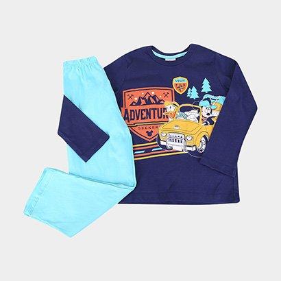 Pijama Infantil Evanilda Longo Disney Mickey Masculino