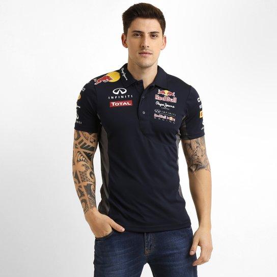 a9021fe23a65e Camisa Polo Red Bull Teamwear - Compre Agora