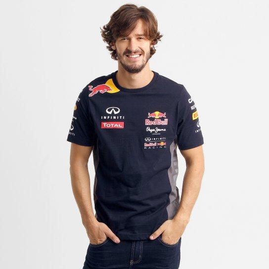 Camiseta Red Bull Teamwear - Compre Agora  4ae51b38853