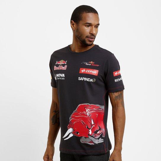 Camiseta Red Bull Team Wear - Compre Agora  d5b3a405fcd