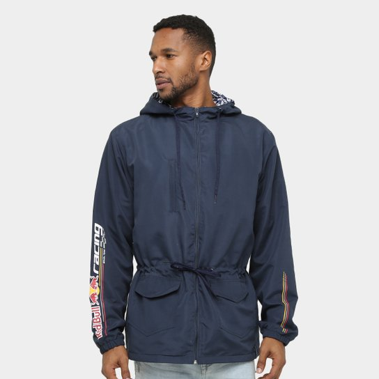 de9b95e512 Jaqueta Red Bull Racing Stock Car Windbreaker Dynamic Masculina - Marinho