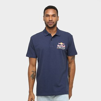 Camisa Polo Red Bull Racing Stock Car Dynamic Masculina d410e90fec39c