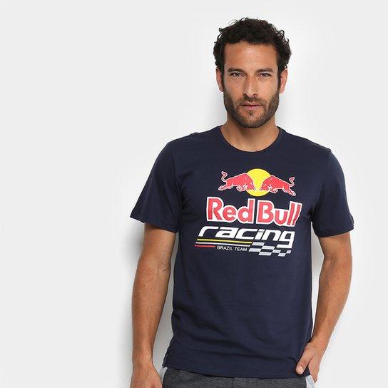 6b233b5020beb Camiseta Red Bull Racing Masculina - Marinho - Compre Agora
