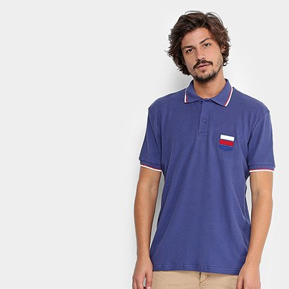 Camisa Polo Gonew England Masculina