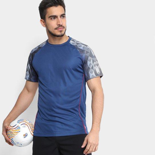 Camiseta Gonew Futebol França Masculina - Marinho - Compre Agora ... d3f8965413