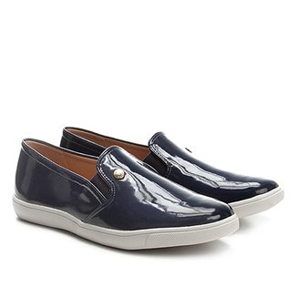 d6e0f772ce Slip On Via Uno Verniz Feminino
