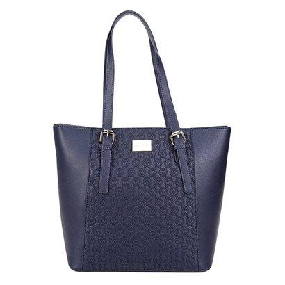Bolsa Via Uno Shopper Monograma Feminina