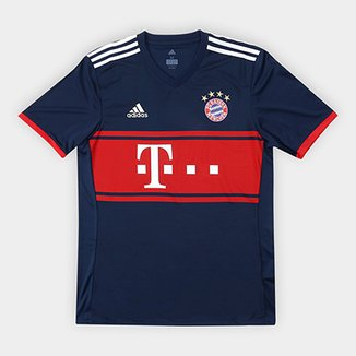 Camisa Bayern de Munique Away 17 18 s nº - Torcedor Adidas Masculina 56693edb8126a
