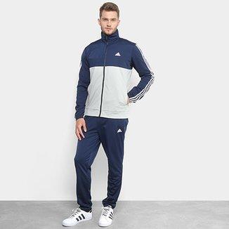 Agasalho Adidas Back 2 Basic 3S Masculino e174ce2c8538f