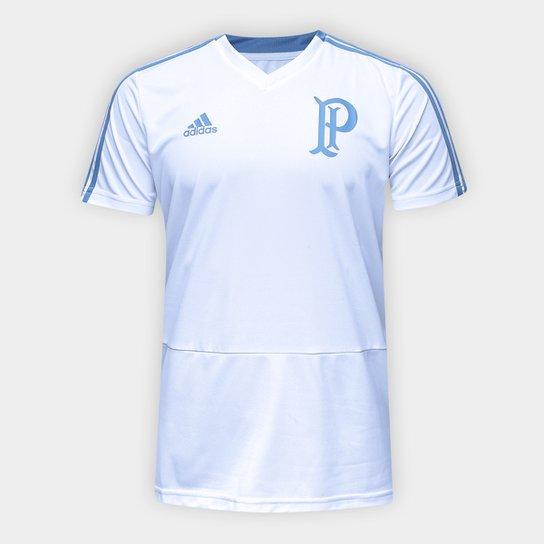 59478165ca Camisa de Treino Palmeiras Adidas Masculina - Branco - Compre Agora ...