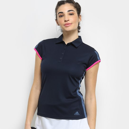 c42cd43641b10 Camisa Polo Adidas Club 3 Listras Feminina | Netshoes