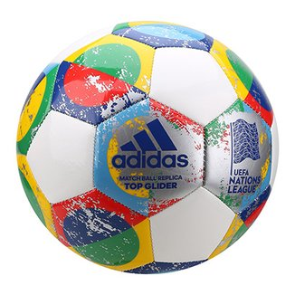 edd806d909f0b Bola de Futebol Campo Adidas UEFA Nations League Top Glider Match Ball  Replique