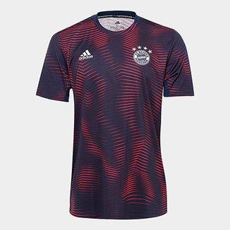 1dd96a520f994 Camisa Bayern de Munique 19 20 Pré-Jogo Adidas Masculina