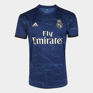 cf9a3baa96 Camisa Real Madrid Away 19/20 s/n° Torcedor Adidas Masculina