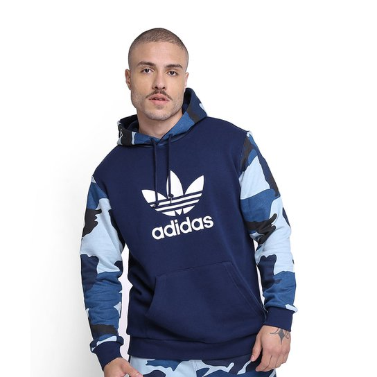 f887d05864 Moletom Adidas Camouflage Oth Hoody - Marinho | Netshoes