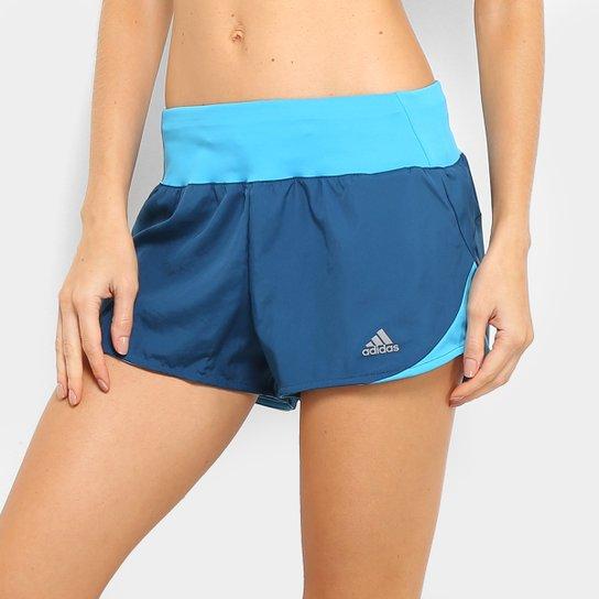 a6e80ec707ce6 Short Adidas Run It Feminino - Marinho | Netshoes