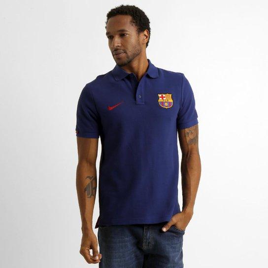 883edcadc67c08  Camisa Polo Nike Barcelona Matchup Core - Compre Agora  Netshoes 6927538c9d8315 ... ab80ce3597bc9