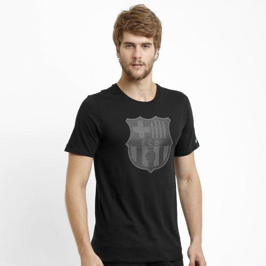 Camiseta Nike Barcelona Core Crest - Compre Agora  749d271042628