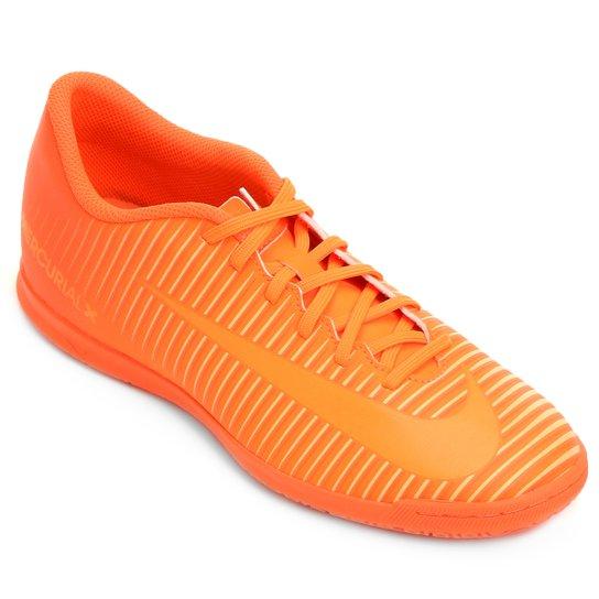 86f7904711 Chuteira Futsal Nike Mercurial Vortex 3 IC - Laranja