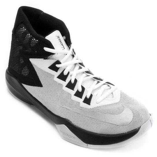 9cff5d595c6 Tênis Nike Zoom Devosion - Branco e prata - Compre Agora