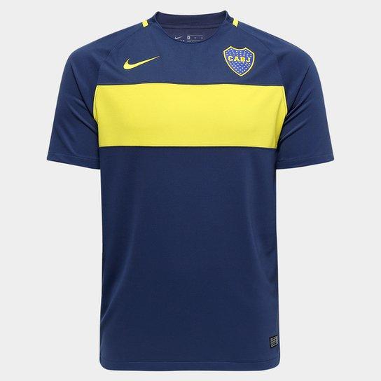 58356e3c51 Camisa Boca Juniors Home Torcedor Nike 16 17 s nº Masculina - Compre ...