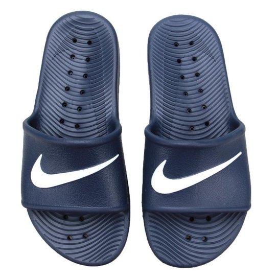 ad1ff2751c6 Sandália Nike Kawa Shower - Marinho - Compre Agora