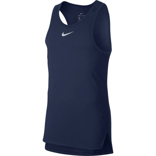 f04ca030b5 Regata Nike Elite Top Masculina - Marinho - Compre Agora