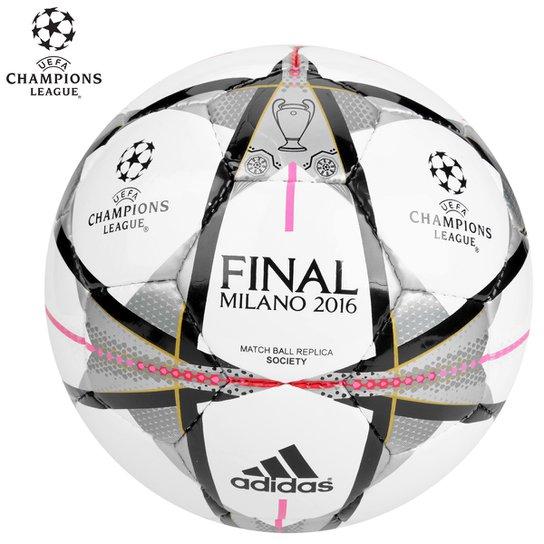 Bola Futebol Society Adidas Finale Milano - Compre Agora  7becaab9792a7