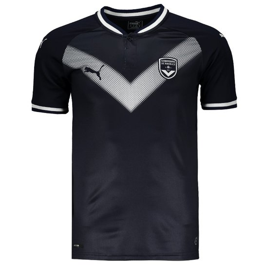 0ec2b2d158 Camisa Puma Bordeaux Home 2018 Masculina - Marinho | Netshoes