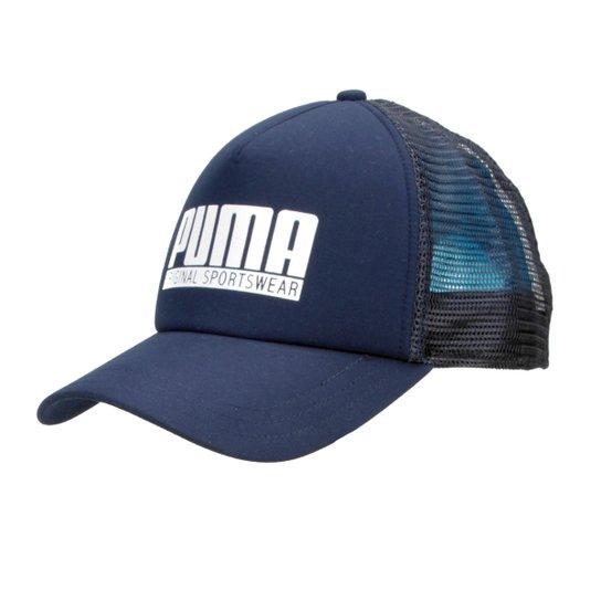 11418e3de0 Boné Puma Aba Curva Style Trucker Masculino - Marinho - Compre Agora ...