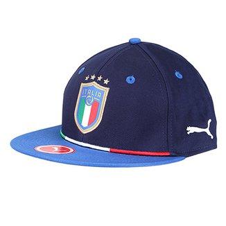 Boné Puma Itália Aba Reta Snapback c726d4bd6fa