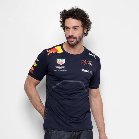 ab7c73ddcd81d Camiseta Puma Red Bull Racing Team Masculina | Netshoes
