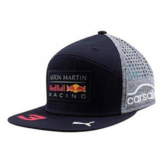 Boné Puma Red Bull Racing Ricciardo Aba Reta 3db8b6b6b89