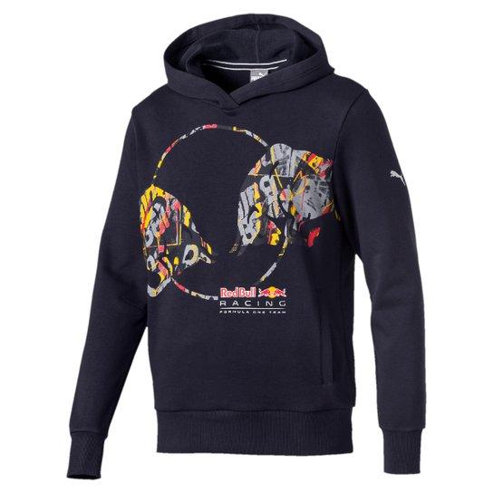 Moletom Puma Double Bull Red Bull Racing Masculino - Marinho ... 46cf3be4e4b