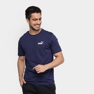 Camiseta Puma Essentials Small Logo Masculina 3ee00679b24