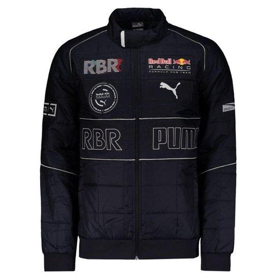 Jaqueta Puma Red Bull Racing Speedcat EVO Masculina - Marinho ... 32b75aa1fe6