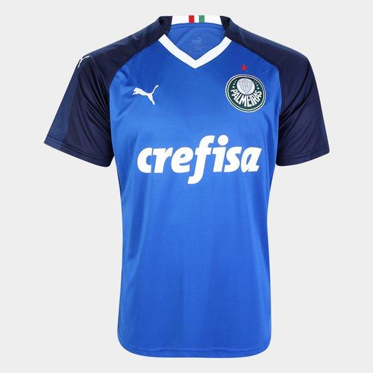 3e793610f4 Camisa de Goleiro Palmeiras I 19 20 s n° - Torcedor Puma Masculina ...