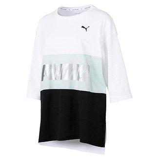 655c9f81f Camisetas Puma Femininas - Melhores Preços | Netshoes