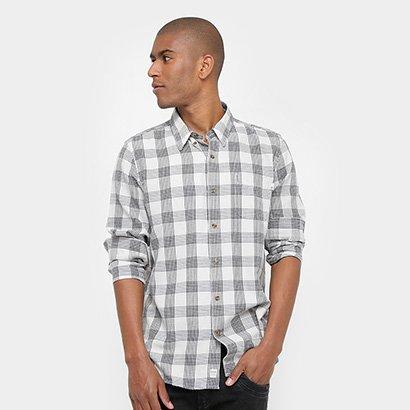 Camisa Xadrez Timberland Ls Lw Plaid Cargo Masculina