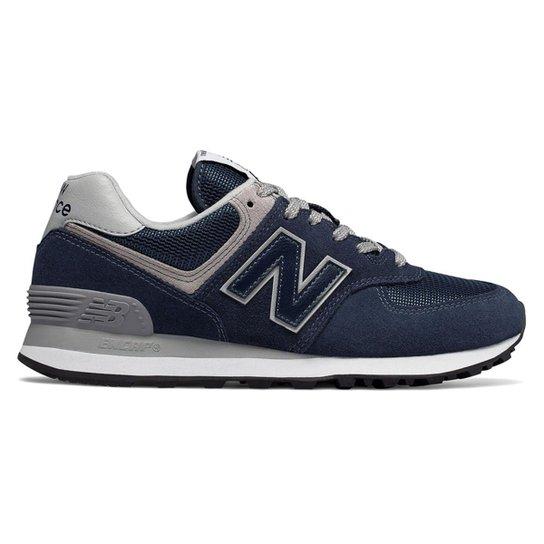 5578310d5 Tênis New Balance 574 Grey Pack Feminino - Marinho - Compre Agora ...
