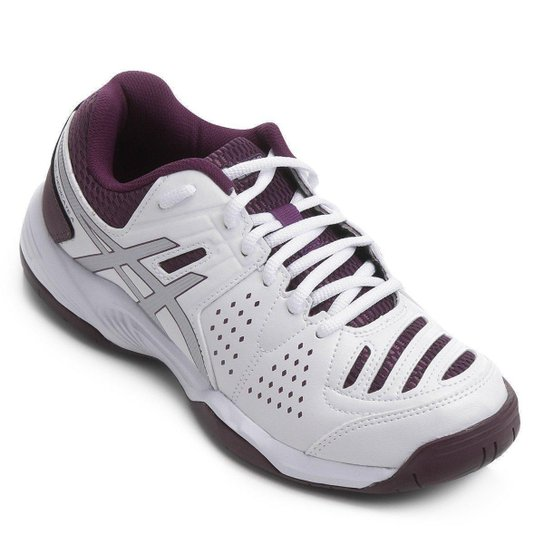 f220f5a5e57ab Tênis Asics Gel Dedicate 4 - Branco e Violeta - Compre Agora