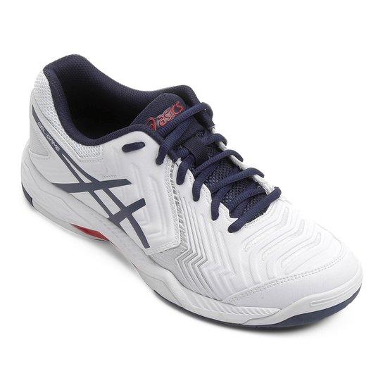 e62457f3723 Tênis Asics Gel Game 6 Masculino - Marinho e Branco - Compre Agora ...