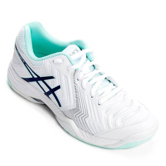 5a13b26b2c Tênis Asics Gel Game 6 Feminino - Branco e prata - Compre Agora ...