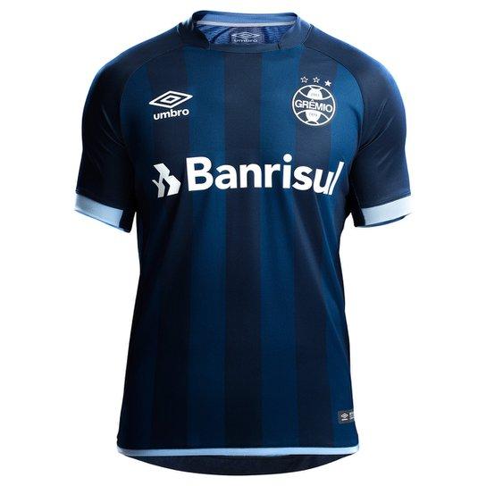 c39c5efc9b175 Camisa Grêmio III 17 18 s n° - Torcedor Umbro Masculina - Marinho ...