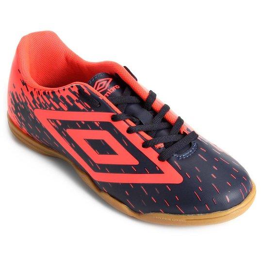 5d0fc4782ca88 Chuteira Futsal Umbro Acid - Marinho | Netshoes