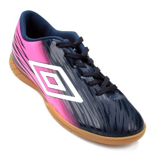 5815b3b1a Chuteira Futsal Umbro Hit - Marinho - Compre Agora