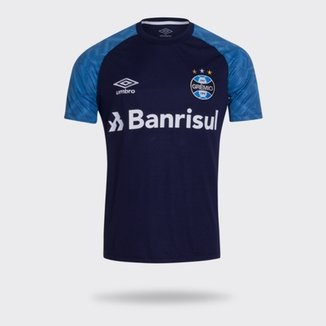 Camisa Umbro Grêmio 2018 Treino Masculina c63655c8424a0